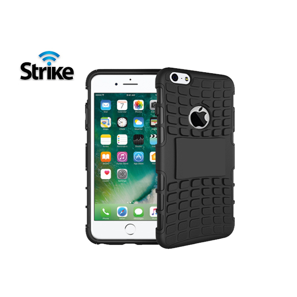 Strike Rugged Case for Apple iPhone 7 and 8 (Black)