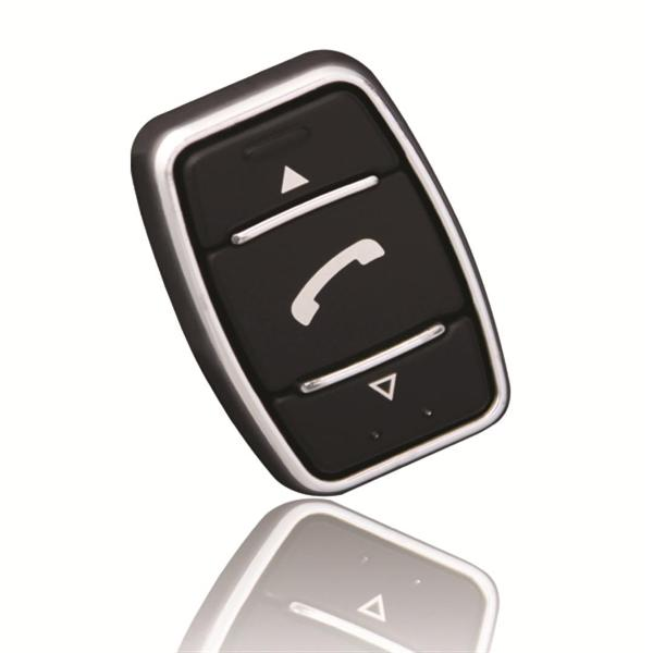 Strike iK-1 Universal Bluetooth Car Kit Pack with Chrome Stick-On Button