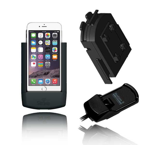iPhone 6 Plus Solution for Bury System 9 with Strike Alpha Cradle & Adapter
