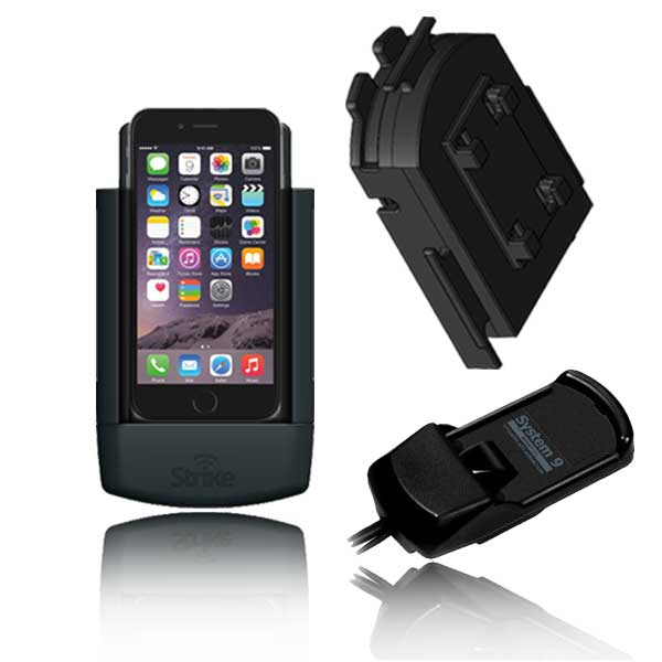 iPhone 6 Solution for Bury System 9 with Strike Alpha Cradle & Adapter