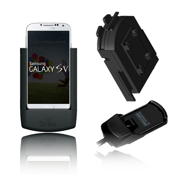 Samsung Galaxy S5 Solution for Bury System 9 with Strike Alpha Cradle & Adapter