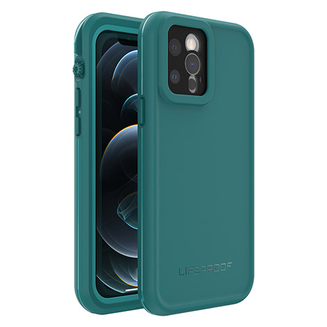 LifeProof Fre Case for Apple iPhone 12 Pro (Blue)