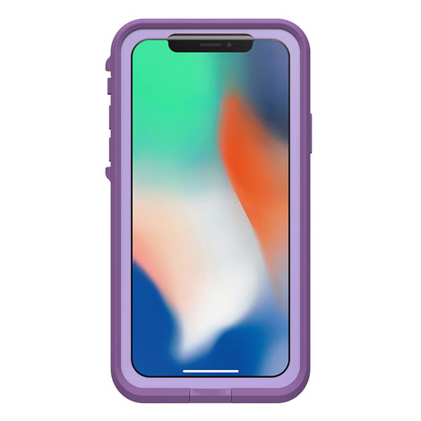 LifeProof Fre Case for Apple iPhone X (Rose/Coral/Lilac)