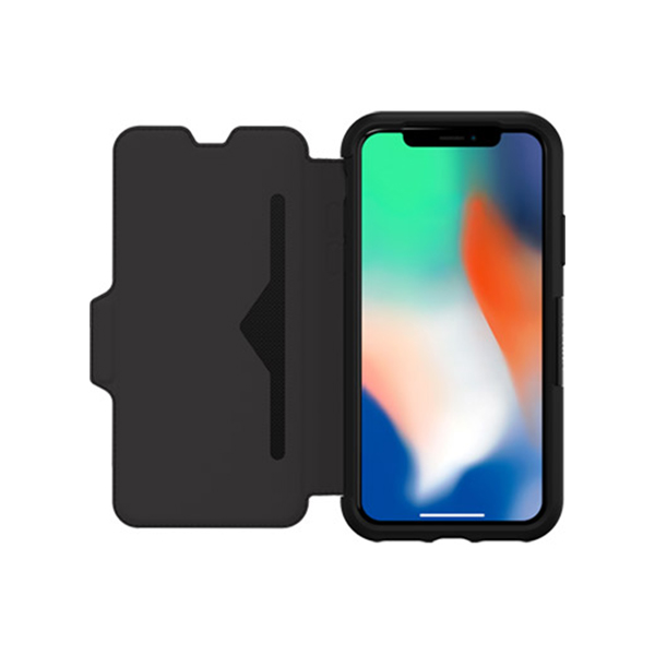 OtterBox Strada Case for Apple iPhone X (Onyx)