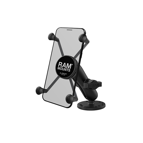 RAM® X-Grip® Large Phone Mount with Drill-Down Base (RAM-B-138-UN10)