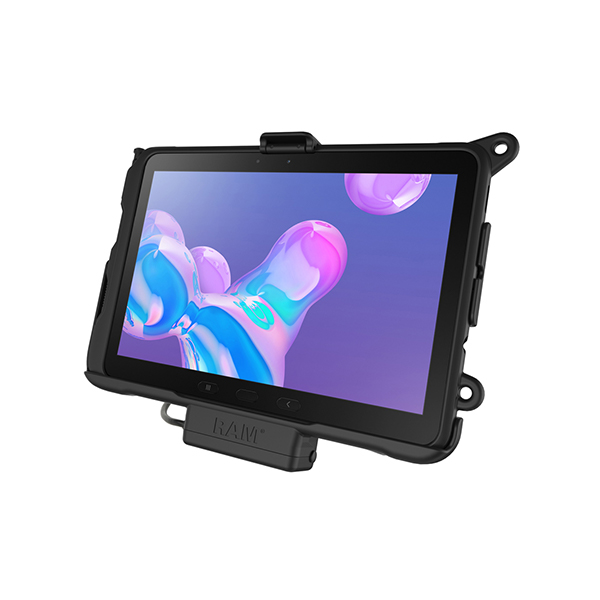 RAM® EZ-Roll'r™ Powered Cradle for Samsung Galaxy Tab Active Pro (RAM-HOL-SAM52PU)