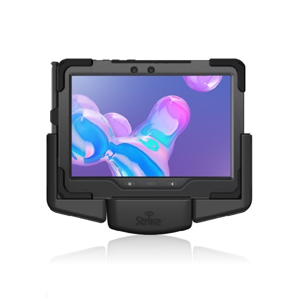 Samsung Galaxy Tab Active Pro Vehicle Mount for Strike Rugged Case with Hand Strap