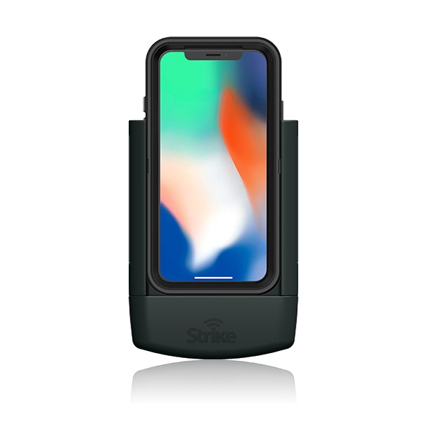 Strike Alpha Apple iPhone X Car Cradle for Otterbox Defender case