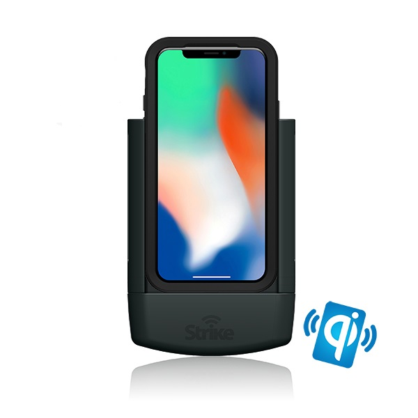 Strike Alpha Apple iPhone X Wireless Charging Car Cradle for LifeProof case