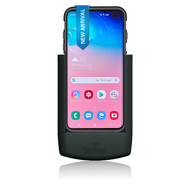 Strike Alpha Samsung Galaxy S10 Plus Car Cradle for Strike Rugged case