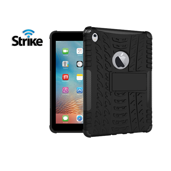 Strike Rugged Case for Apple iPad 9.7 2017 (Black)